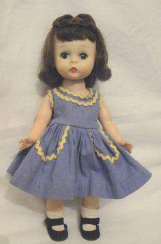 Vintage Alexander-kins BKW BEND LEG WALKER Wendy Doll ORIGINAL Super Pretty EC #DollswithClothingAccessories
