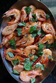 Dried Pepper-Butter Shrimp | Thai Food by SheSimmers