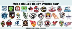 Roller Derby Badges