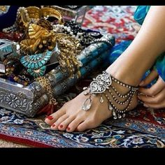 Beautiful Arabian jewelry