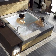 Consonance Two Person Whirlpool Bathtub #Bath, #Cool, #Relax
