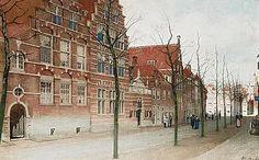 De Hooglandsekerkgracht te Leiden Johannes Christiaan Karel, J.C.K. Klinkenberg