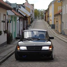 Two beautiful things: a Swedish street and a Swedish car :) Another Trionic 5.5 conversion, FMIC and many more mods. #saab #saabturbo #saab900 #c900 #aero #spg #turbo #garrett #mitsubishi #trionic #intercooler #fmic #bbs #bbsrs #racetrack #youngtimer #sweden #trollhättan #vintage Owner: garaget.org/SnEl