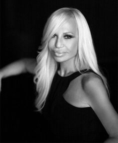 Donatella Versace (born 2 May 1955) is an Italian fashion designer and current Vice-President of the Versace Group, as well as chief designer. She owns 20 percent of the entire stock market assets of Versace. Her brother, Santo Versace, owns 30 percent. Donatella's daughter Allegra Versace inherited 50% of the company stock after the death of Gianni Versace, Donatella's brother and Versace's founder.