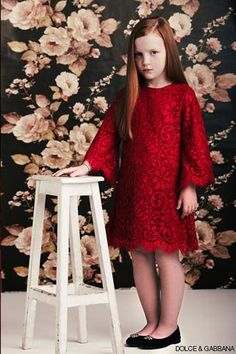 DOLCE & GABBANA - MONREALE LACE DRESS - Discover LUISAVIAROMA's new kids' collections