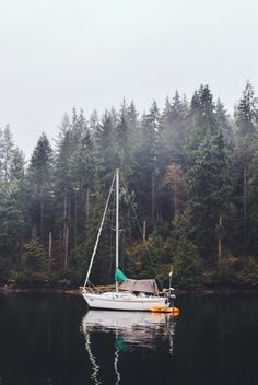 Note: Sails are down, for now. Until the winds change. Deep Cove, North Vancouver, BC. | David Arias | VSCO Grid