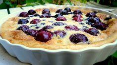 Cherry Clafoutis  #clafoutis, #glutenfreefoods, #glutenfree recipes.mynaturalmarket.com