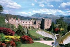 Muncaster Castle - home of the Pennington family.  Also Amy & Carl's wedding venue 31/3/12