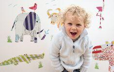kinderkamer muurstickers voor kinderen