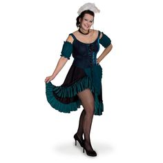 saloon girls costumes | Plus Size Saloon Girl Costume - 1014035, Halloween at Sportsman's ...