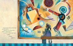 marinearte: Wassily Kandinsky Wassily Kandinsky, Ideas Para, Painting, Color, Reading Comprehension, Children's Books, Small Wooden Boxes, Music Activities, Art Kids