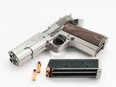World's First Double Barrel 1911 Semi-automatic Pistol