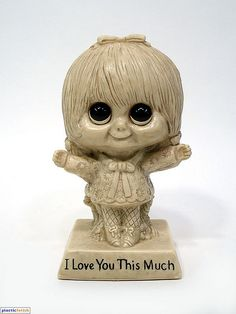 I love you this much.- Is she coming back from the dead to tell me this?