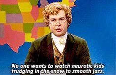 Jebidiah Atkinson on Weekend Update. A Charlie Brown Christmas. SNL.