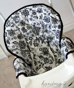 Tutorial: Baby Swing Cover could make for a highchair, too?
