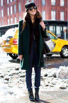 29 Winter Wardrobe Ideas From New York Fashion Week's Street Style Stars   TeenVogue.com