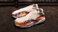 Nike Air Footscape Woven Chukka Premium QS Rainbow  Sail Sail-White  -  Release Date + Info Available now in Japan at mita as well a0fc2a025