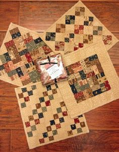 Mini Charm Quilts #25 My Red Door Designs