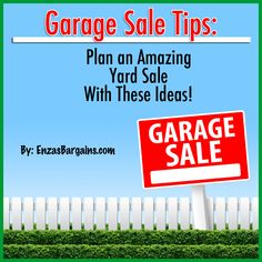 Garage Sale Tips: Plan a Successful Yard Sale With These Ideas!