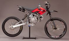 Motoped - Do it yourself powered mountain bike conversion.