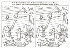 Genesis 6: de ark van noach zoek de 10 verschillen