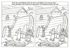 de ark van noach zoek de 10 verschillen