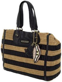 Juicy Couture Lurex Straw Tote - seriously loving this for summer!