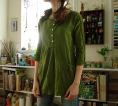 Beautiful shirt from Stylish Dress Book Vol. 1. A beautiful room too!