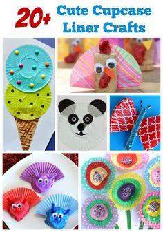 Cutest Cupcake Liner Crafts