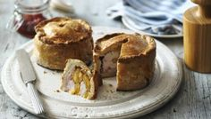 Paul Hollywood's delicious pies have a rich golden pastry and are made in the traditional way.