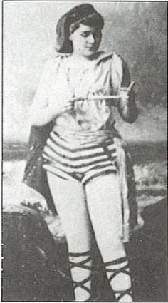 Bird Cage Theater performer Mae Davenport