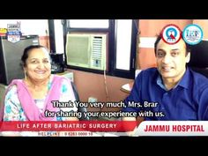 http://www.jammuhospital.com , No Diabetes & No High Blood Pressure after Bariatric Surgery in Punjab at Jammu Hospital Jalandhar by Dr. GS Jammu ( Chief Bariatric Surgeon )