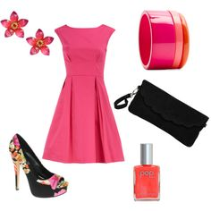 Spring Pop! Dont like the braclet, and I am not sure about the shoes but I love everything else!
