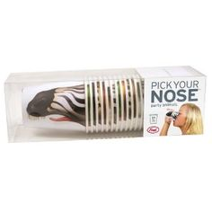Pick your nose party animals? Yes!