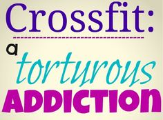 Crossfit is the most fun I've had since I stopped doing gymnastics 15 years ago.  Try it!