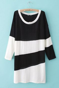 55013f9704a Diagonal Stripes Print Pullover in Color Block - Knitwear - Clothing