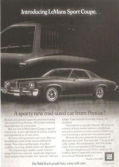 A trim 23 feet long. (Funny bad retro car ads)