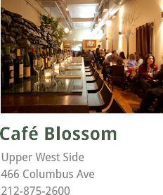 Home Blossom Restaurants Restaurantvegan Optionsupper West Sidevegan