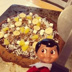 Chocolate Chip Pizza Cookie - The Christmas Shoppe