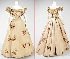 1898. Dress, Evening. Jean-Philippe Worth