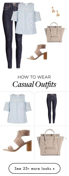 """casual"" by apvick on Polyvore featuring Phillips House, H&M, River Island and Charlotte Russe"