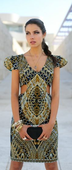 African Print Stylish Clothes | African print dress