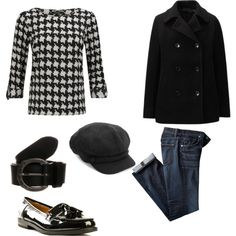 A fashion look from January 2015 featuring VILA blouses, Uniqlo coats and Replay belts. Browse and shop related looks.