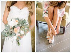 Bride getting ready for wedding | Brooke Bakken | Orange County Wedding Photographer