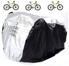 Aiskaer Waterproof Bicycle Cover Outdoor Rain Protector for 3 Bikes-dustproof and Sunscreen.Large Size for 29er Mountain Bike Cover Motorcycle Cover, Bike Cover, 29er Mountain Bikes, Mountain Biking, Cool Bikes, Sunscreen, Oc, Electric, Rain