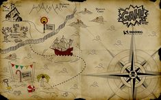 Pirate Wallpaper for Kids