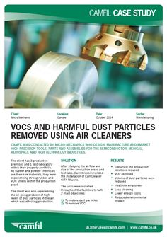 Air Cleaners in Manufacturing