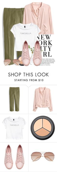 """NYC girl"" by solespejismo on Polyvore featuring moda, J.Crew y H&M"