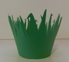 Grass Green Cupcake Wrappers. $6.00, via Etsy.