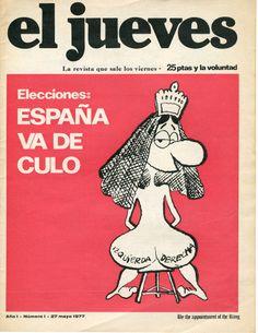 27 de mayo de 1977 y 25 pesetas de precio.